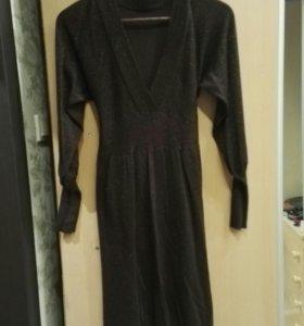 Платье коричневое 44-46