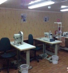 Швейный цех, швейное оборудование