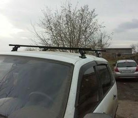 Багажник на крышу Шевроле Нива