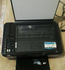 HP Deskjet F 4500 МФУ ( принтер сканер копир)