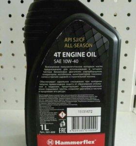 масло для 4-х такт. двигат. полусентет 1л