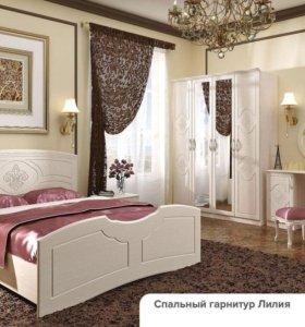 Новая спальня модульная Лилия