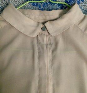 Блузка кремового цвета h&m