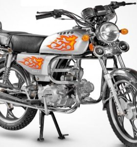 Мопед VENTO RIVA II - New 110cc, Черный