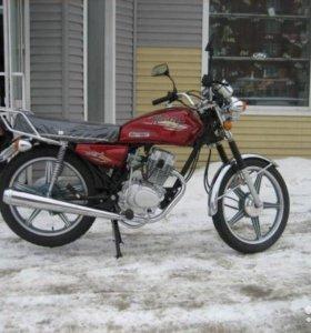 """Мотоцикл VENTO VERSO(125сс), клас. стиль,18""""колеса"""