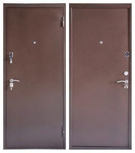 стальная дверь ФОРТ Б - 2 мет/мет