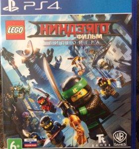 Игра На PS4 Лего Ниндзяго Диск Новый