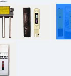 Приборы электролизер, ОВП-метр