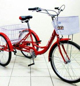 Продаётся взрослый 3х колёсный велосипед
