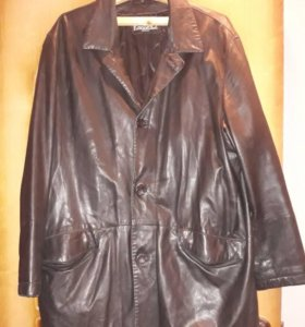 Куртка кожанная мужская 56 р.