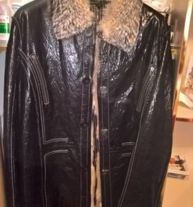 зимняя куртка на меху (новая)