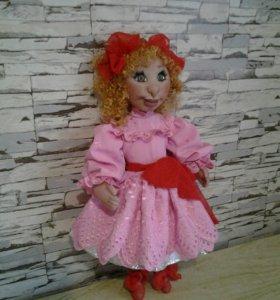 Интерьерная кукла ручная работа.45см.