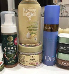 Средства для волос и кожи лица