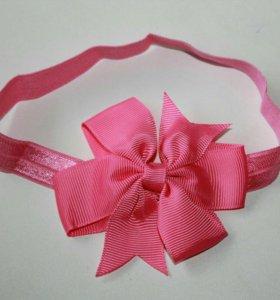 Повязка-галстук для девочки