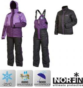 Продам зимний костюм NORFIN