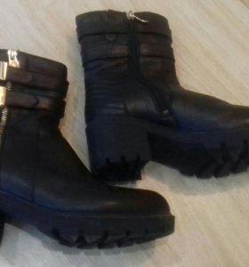Ботинки зимние 38р