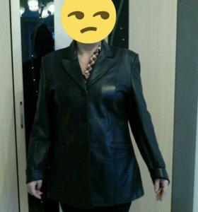 Куртка кожаная 50 р