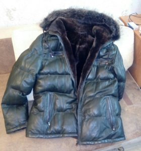 Зимняя кожаная куртка Emiliano Zapata