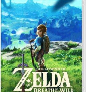 Zelda breath of the wild для Nintendo Switch