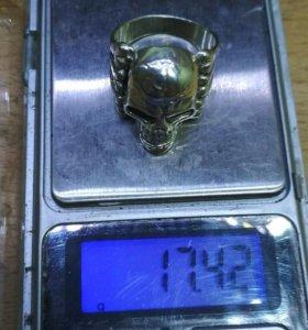 Перстень кольцо мужское