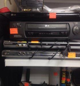 DVD, видеомагнитофон