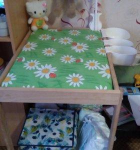 Пеленальный столик Икеа