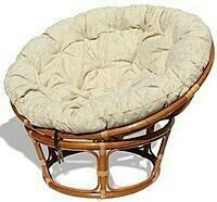 Кресло Папасан плетеное ротанговое