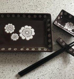Новый набор для суши, роллов из 4 предметов