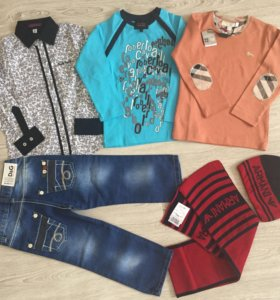 Пакет брендовое одежды. Armani, Burberry 1-2г.