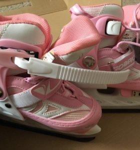 Новые коньки для девочки