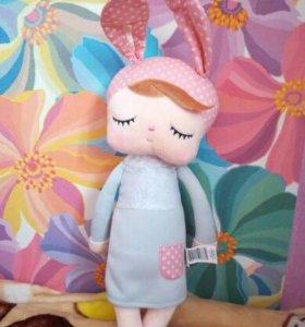 Кукла мягкая плюшевая