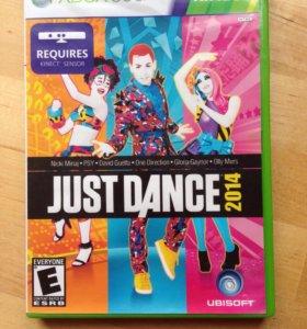 Just dance 2014 для Xbox 360 Kinect не лицензия