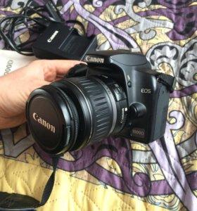 Canon 1000d,зеркальный фотоаппарат