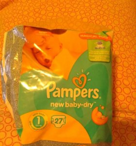 Pampers new baby-dry 1(2-5кг)