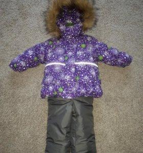 Новый зимний костюм( комбинезон) для девочки