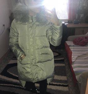 Пуховик, новый, зимний