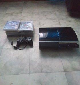 Сони пс3+12 дисков доступен торг