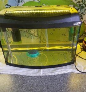 Продам аквариум на 40л