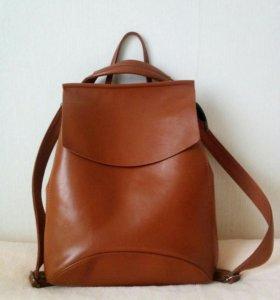 Сумка-рюкзак + клатч в подарок