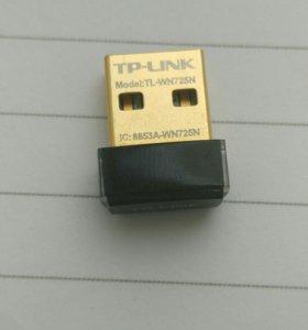 Wi-fi адаптер TP-Link TL-WN725N(RU)