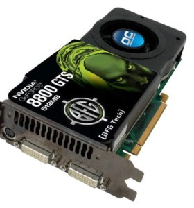 Видеокарта Nvidia GeForce 8800 GTS 512