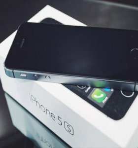 iPhone 5s 16Gb Space Gray (Гарантия 1 год)