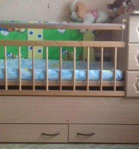 Детская кроватка от 0 до 10 лет
