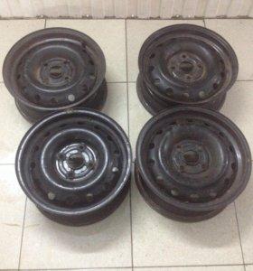 Штампованные диски р15 4х114,3
