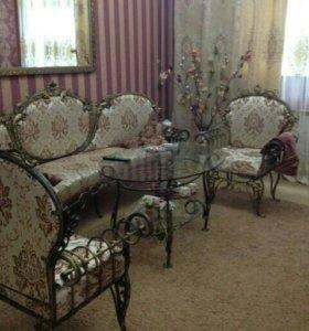 Кованная мебель для гостинной