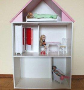 Кукольный домик полочка для Барби, Монстров Хай