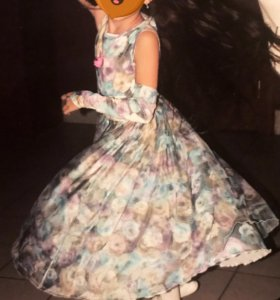 Платье на Новый год 3D