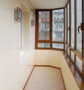 Ремонт и обшивка балконов
