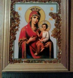 Икона Божья матерь с младенцем