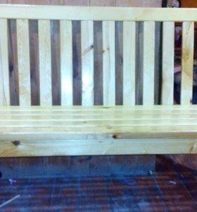 Скамейка отличный интерьер для дома